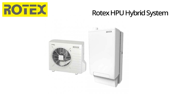 Caldaia a condensazione rotex pompa di calore hpu hybrid for Asciugatrici condensazione o pompa di calore